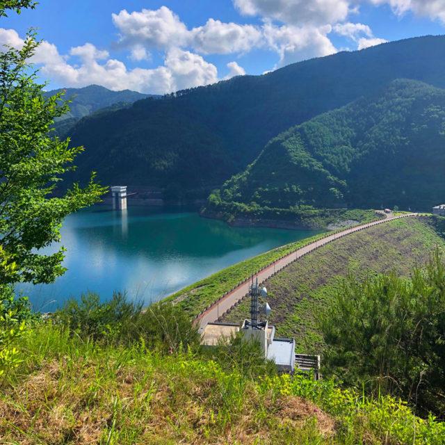 木曽川の源流にある味噌川ダム