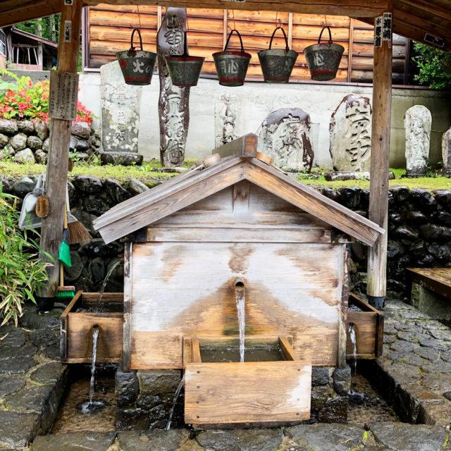 中山道 奈良井宿の水場