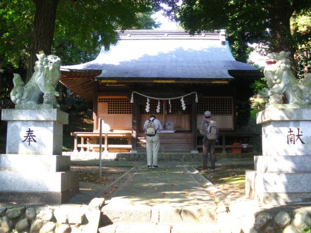 2008年10月29日 府中通り大山道の現調