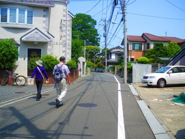 2010年5月10日 用賀の古道を探索する