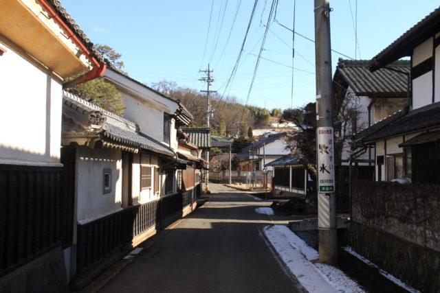 中山道間の宿茂田井