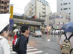 厚木駅東口交差点