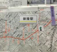 京都信用金庫本店 マップ展示