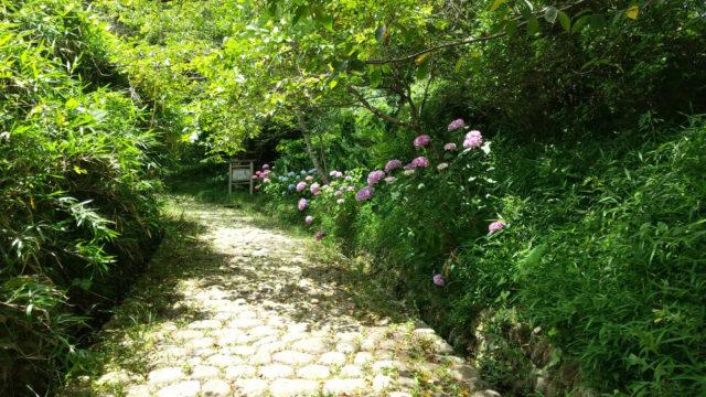 東海道 金谷の石畳