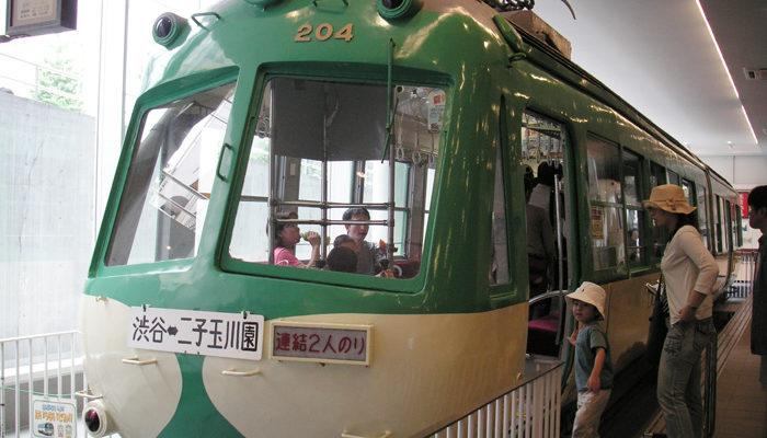 電車とバスの博物館。