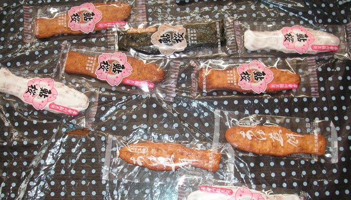 多摩川の名物だった鮎をかたどった鮎煎餅。今はお店も廃業