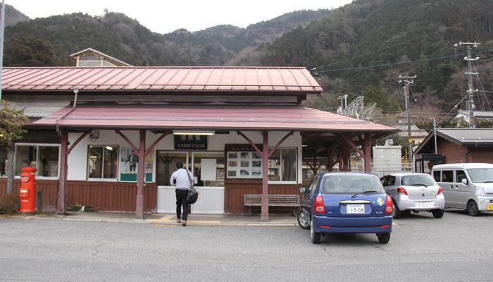 須原駅駅舎