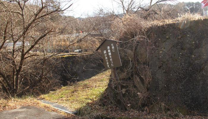 左側に津島様を祀った祠があります。