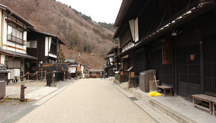 福島宿 古い町並みが残る上の段地区
