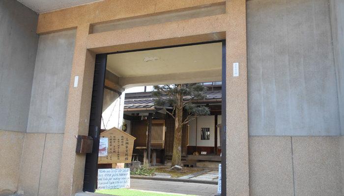 福島関所隣の高瀬家