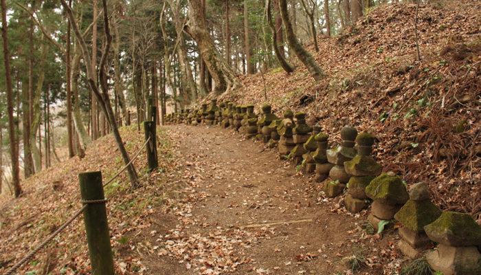 芦田、津金寺は五輪塔がたくさん