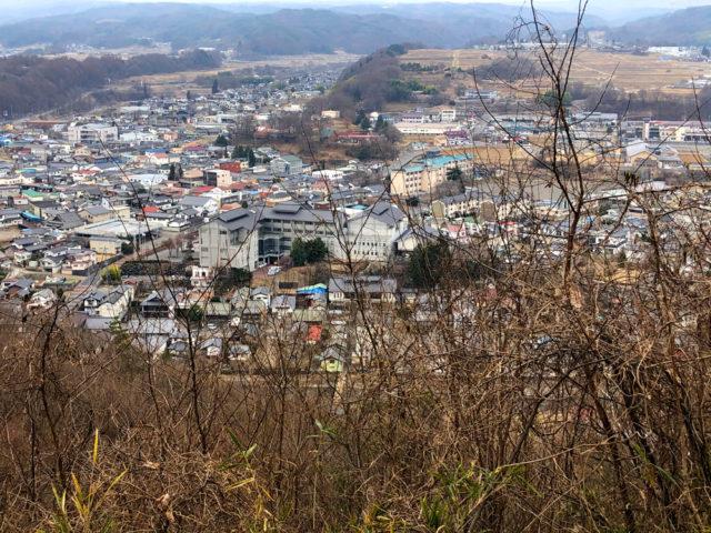中山道、望月城跡からの眺め